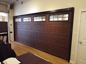 North Hatley LP, American Walnut door